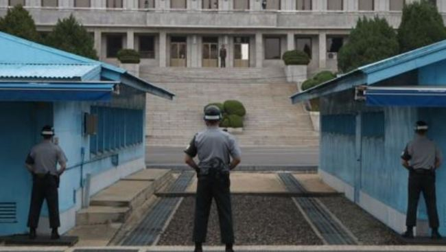 This file photo shows the truce village of Panmunjom inside the heavily fortified Demilitarized Zone (DMZ) that bisects the two Koreas. (Yonhap)