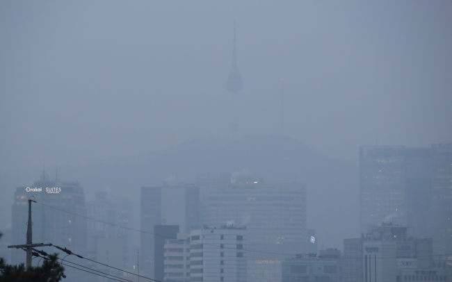 A view of Seoul on Wednesday. (Yonhap)