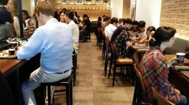 A coffee shop in central Seoul (Yonhap)