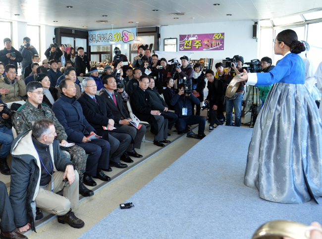 A preview of the DMZ Art Festa opening ceremony