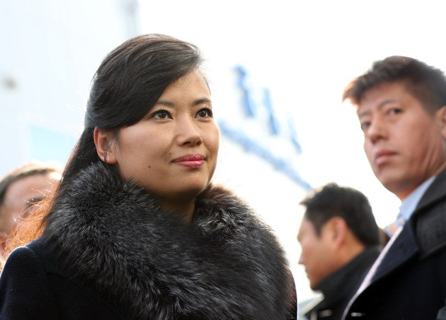 Hyon Song-wol is leading the 7-member North Korean delegation (Yonhap)