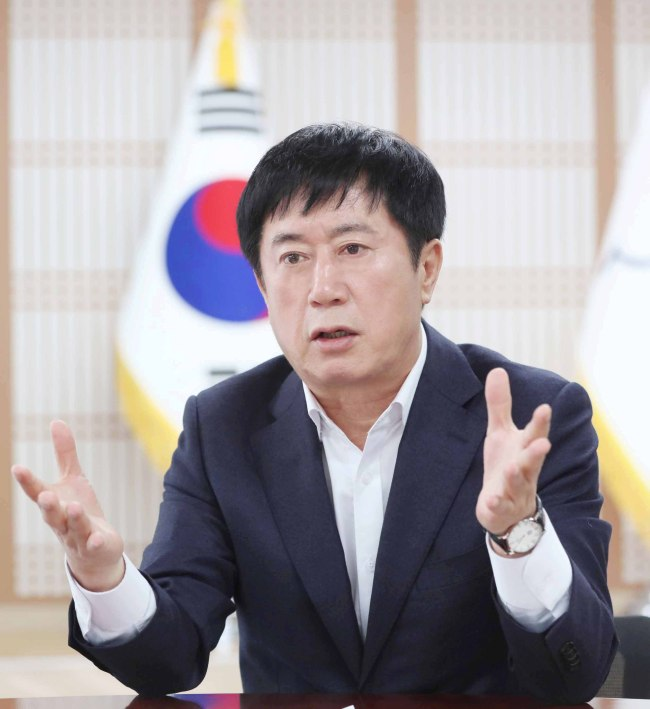 Yongin Mayor Jung Chan-min