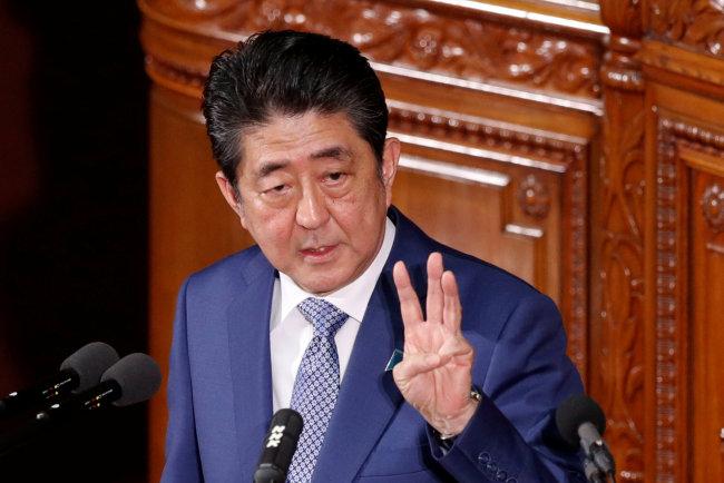 Japanese Prime Minister Shinzo Abe (Yonhap)