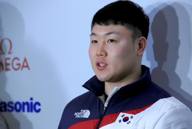 South Korean bobsleigh pilot Won Yun-jong (Yonhap)
