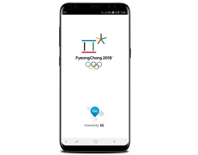 The Go PyeongChang app (KT)