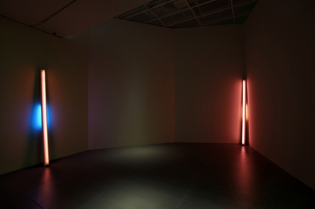 """Untitled (to Shirley and Jason)"" by Dan Flavin (Lotte Museum of Art)"