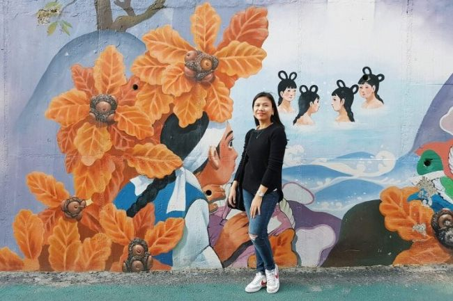 Ellaine Galvez in Seoul in April, 2017 (www.janegalvez.com)