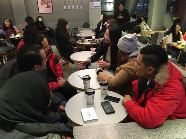 Undocumented workers from Malaysia speak during an interview with The Korea Herald. (Ock Hyun-ju/The Korea Herald)