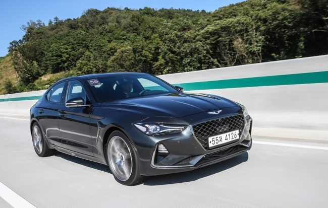 G70 Test Drive >> Genesis G70 named car of the year