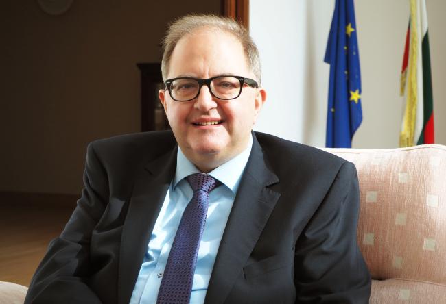 Bulgarian Ambassador to Korea Petar Andonov (Joel Lee/The Korea Herald)