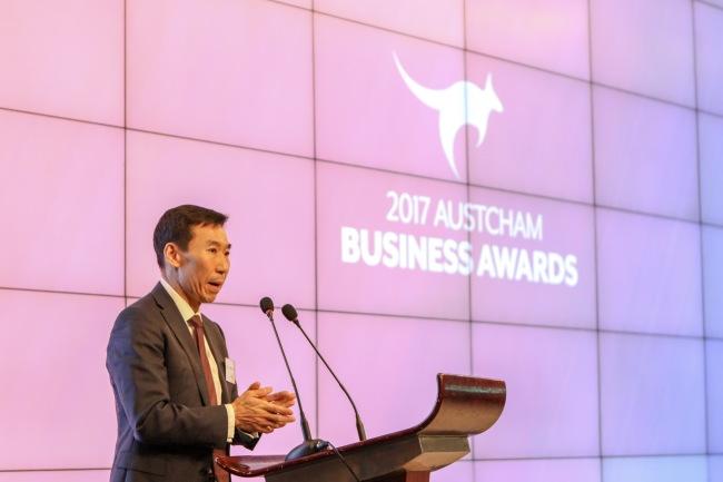Australian Ambassador to Korea James Choi (AustCham)