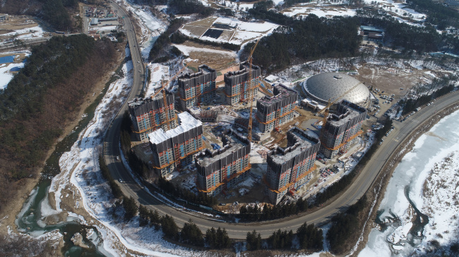 PyeongChang Olympic Village (PyeongChang Olympics website)