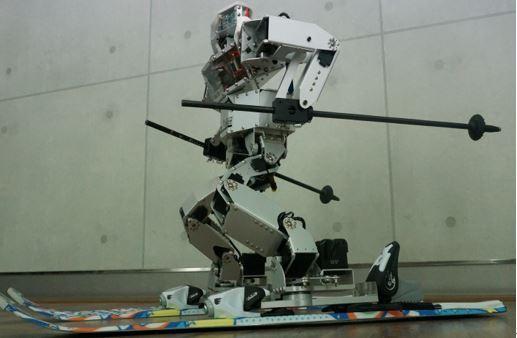 Mini Robot Co.'s skiing robot Taekwon V (Korea Institute for Robot Industry Advancement)