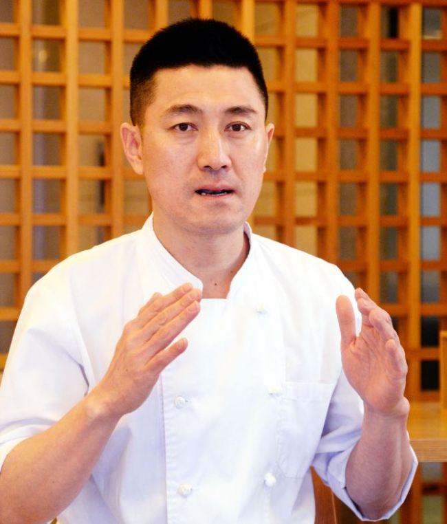 Hanilkwan head chef Lee Jaejun (Park Hyun-koo/The Korea Herald)