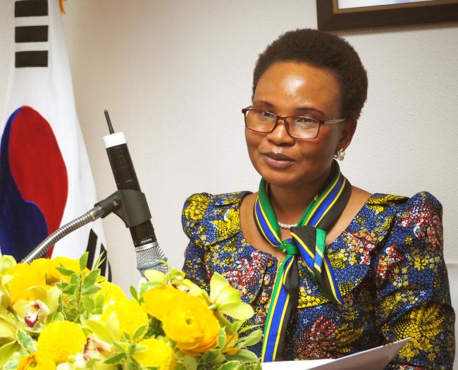 Tanzanian Ambassador Matilda S. Masuka (Joel Lee/The Korea Herald)