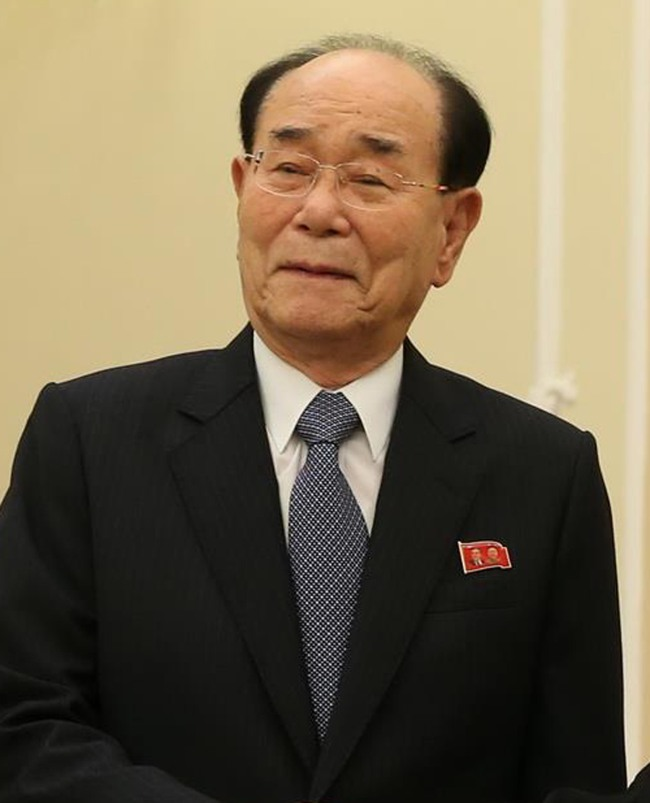 North Korea`s nominal leader Kim Yong-nam, who serves as president of the Presidium of the Supreme People's Assembly. Yonhap