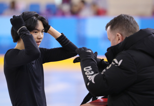 [PyeongChang 2018] Korean figure skater Cha Jun-hwan eyes top 10 at PyeongChang