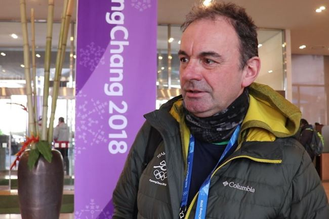 Stephen Martin, chief executive of the Olympic Council of Ireland, speaks to The Korea Herald in an interview, Thursday. (Park Ju-young/The Korea Herald)