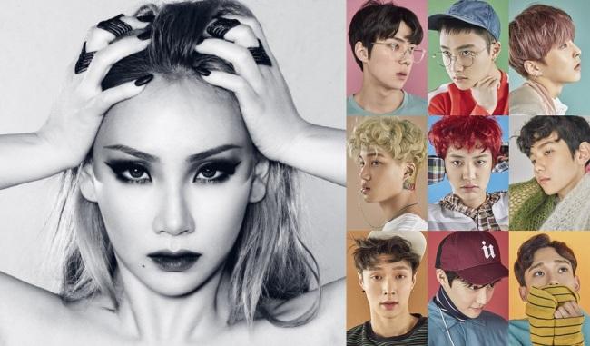 (YG Entertainment, S.M. Entertainment)