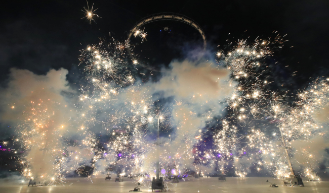 The PyeongChang Winter Olympics opening ceremony took place last Friday. (Yonhap)