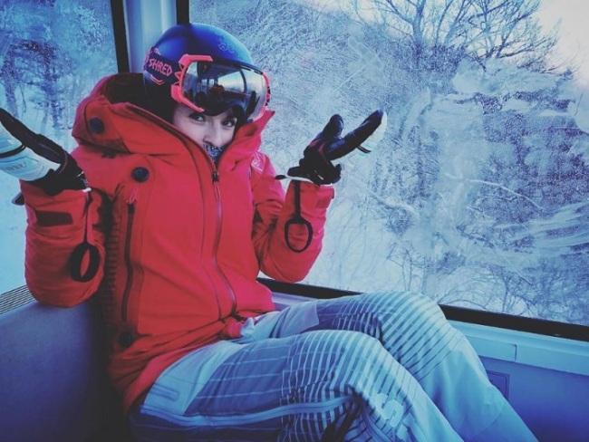 Swiss alpine ski racer Lara Gut (Instagram)