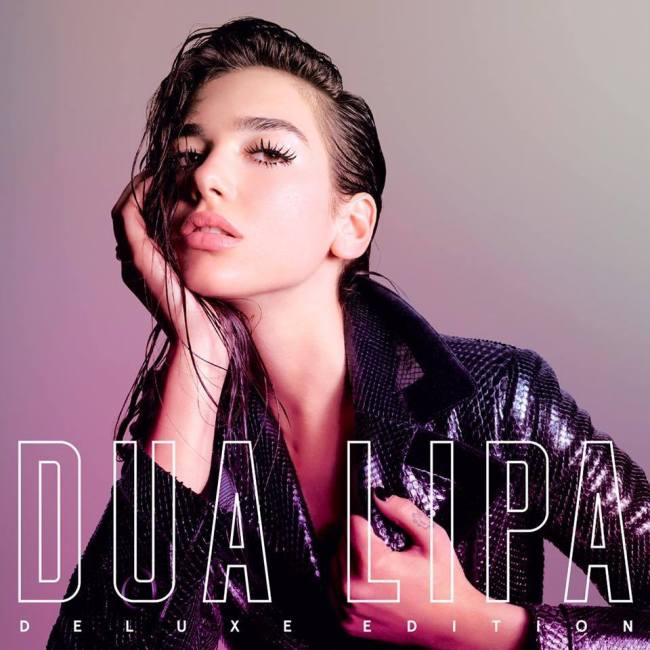 Album cover of Dua Lipa`s debut album (Dua Lipa`s Facebook page)