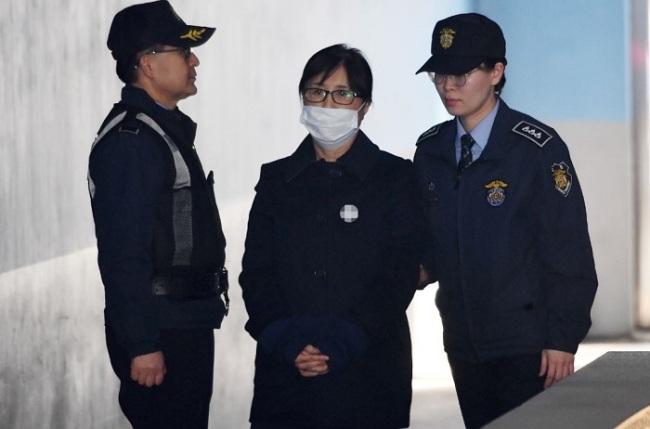 Choi Soon-sil (Yonhap)
