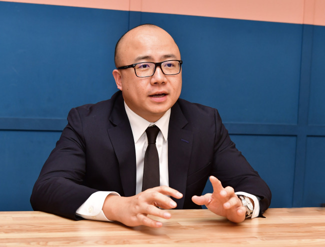 Alibaba Cloud's General Manager for Hong Kong, Macau, Taiwan and Korea Leo Liu (Alibaba)