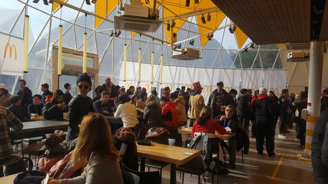 Inside McDonald's Korea's Gangneung Olympic Park store (McDonald's Korea)