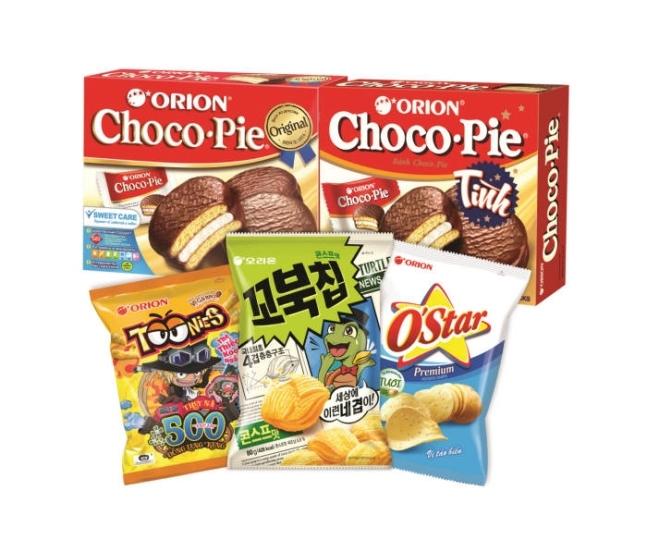 Orion snacks (Orion)