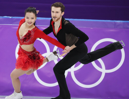 Min Yu-ra and Alexander Gamelin (Yonhap)