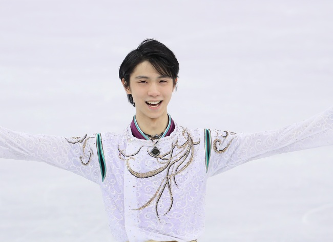 Japanese figure skater Yuzuru Hanyu also has been a subject of debate over his attitude among South Korean sports fans. (Yonhap)