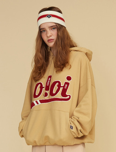 Oversized pullover hoodie by domestic brand OiOi (OiOi)