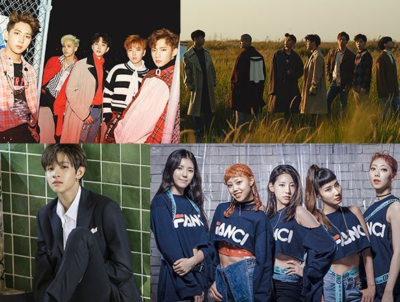 B1A4, BTOB, Samuel and Girlkind (Korea Tourism Organization)