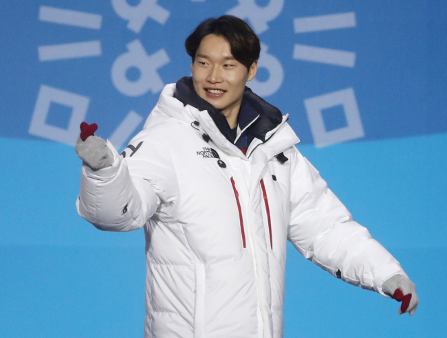 Lee Sang-ho, the first Korean to win a medal in skiing sports. (Yonhap)