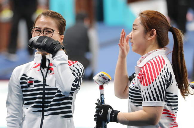 Players show tears after the final game against Sweden(Yonhap)