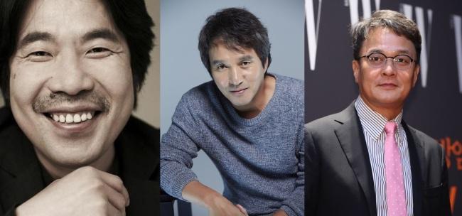 From left: Oh Dal-soo, Cho Jae-hyun and Jo Min-ki (Next Entertainment World, CS Actors, Yonhap)