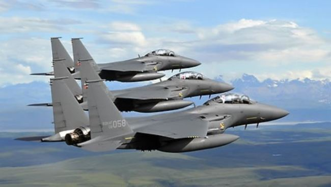 F-15K fighter jets (Yonhap)