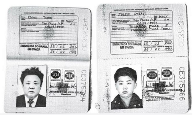 Images obtained by Reuters show an authentic Brazilian passport issued to North Korea`s leader Kim Jong-un and his late father Kim Jong-il. (Reuters)