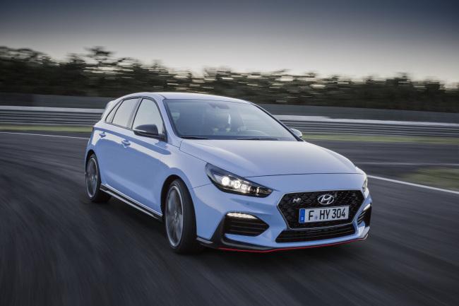 Hyundai's performance car lineup i30 N (Hyundai Motor)