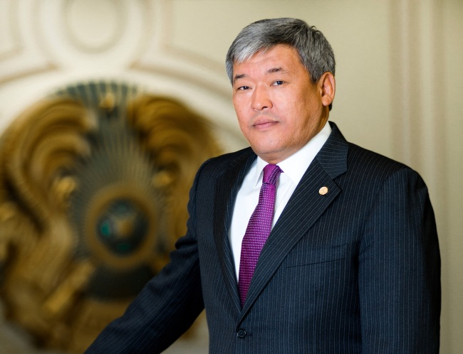 Chairman of the International Center for Green Technology and Investment Projects, Rapil Zhoshybayev (Astana Times)
