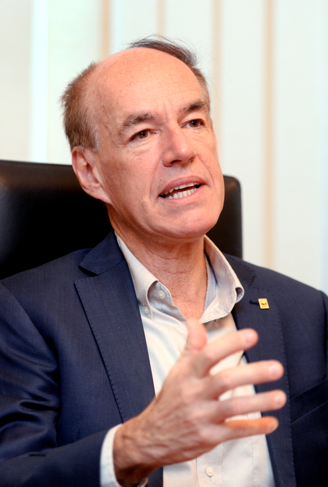 Marco Lambertini, director general of World Wide Fund for Nature (WWF)