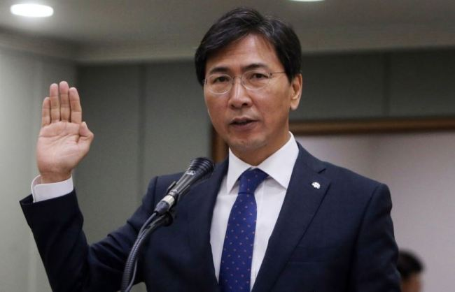 Ex-governor An Hee-jung (Yonhap)