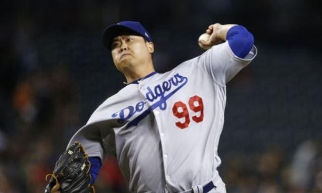 Ryu Hyun-jin of the Los Angeles Dodgers (AP-Yonhap)