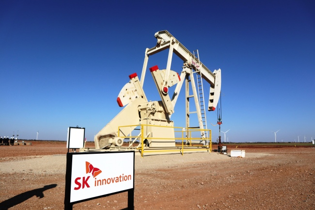 SK Innovation's shale site in Oklahoma (SK Innovation)