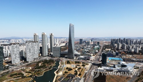 Songdo International Business District in Incheon