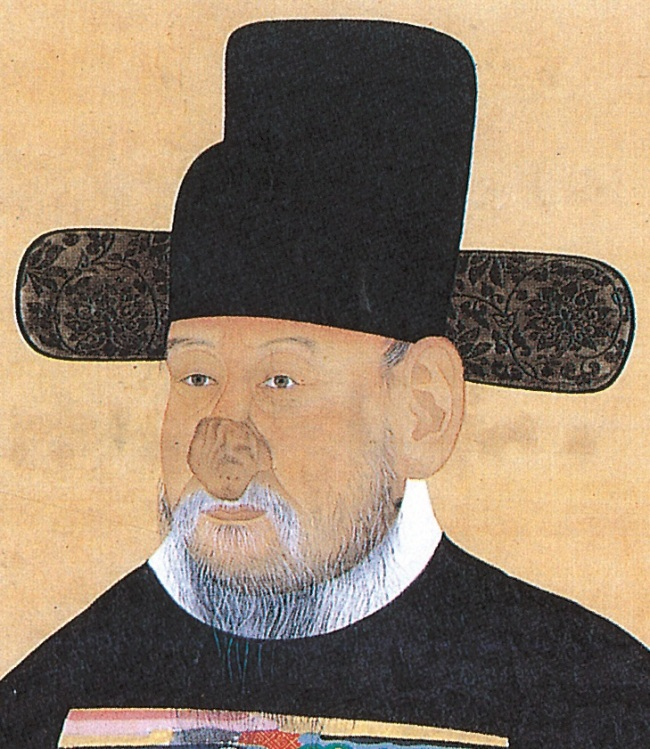 A portrait of a high government official named Hong-jin shows a symptom of rhinophyma, a condition that causes the development of a large, bulbous nose. (Nulwa)