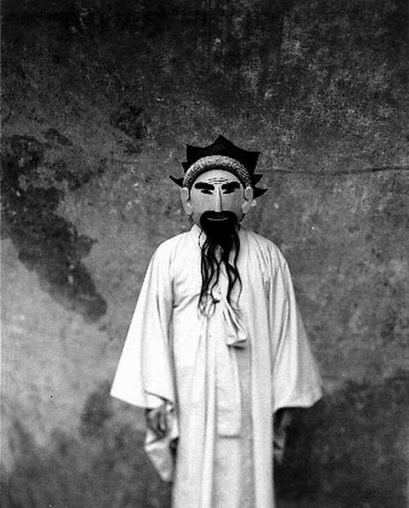"""A work from Koo Bohn-chang's series """"Masks""""(Photo courtesy of Koo Bohn-chang)"""