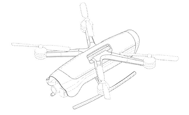 A design of a possible drone by Samsung Electronics (USPTO)