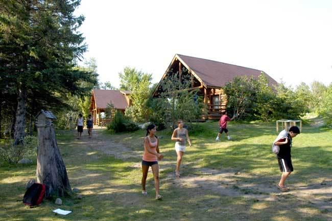 The Korean Language Village located in Bemidji, Minnesota, US (Concordia Language Villages)